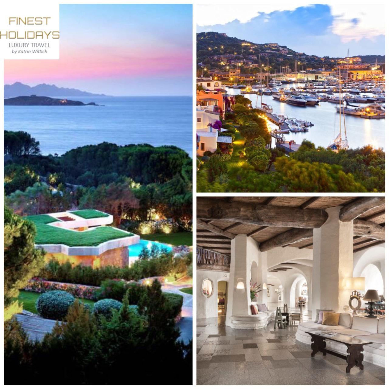 wee.finest-holidays.com Sardinia, Costa Smeralda, Poro Cervo, holiday villas, luxury hotels, Italy