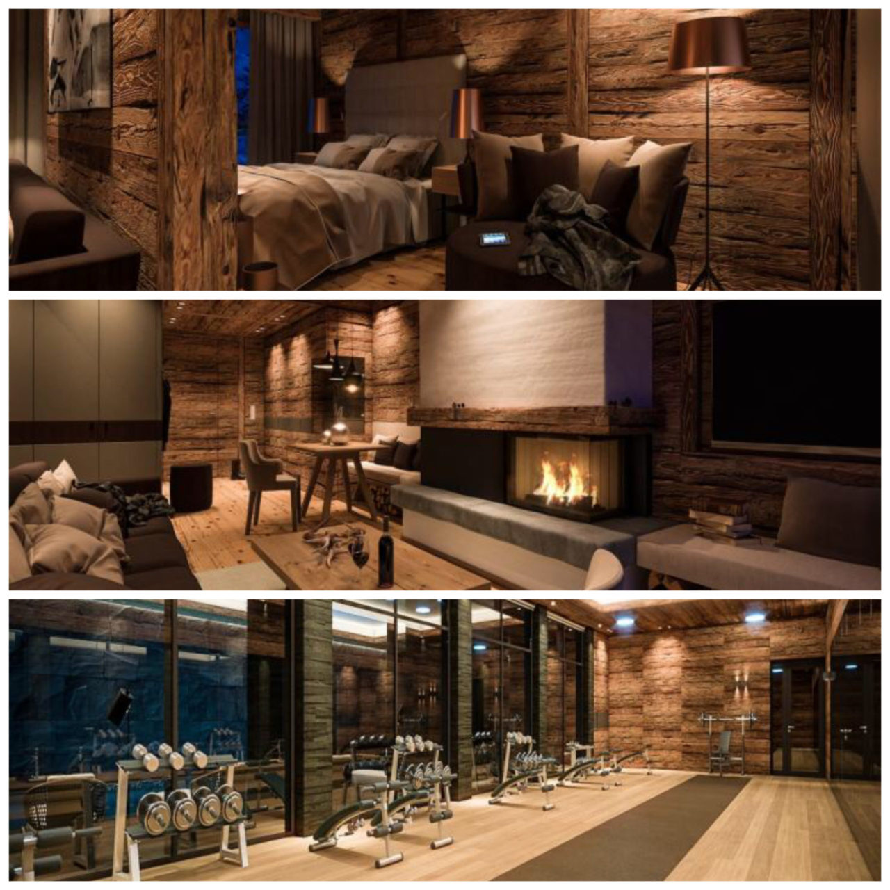 www.finest-holidays.com SEVERIN*S - The Alpine Retreat, suite, bedroom, living, fitness