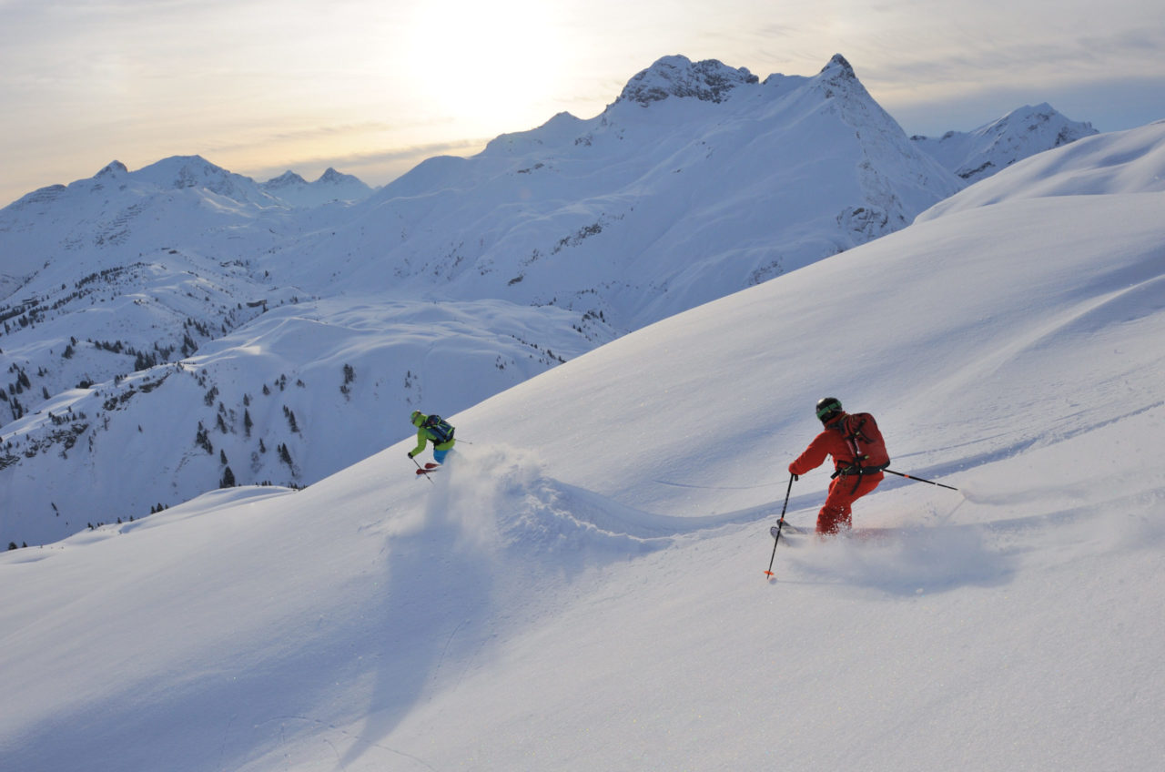 www.finest-holidays.com skiing Arlberg area