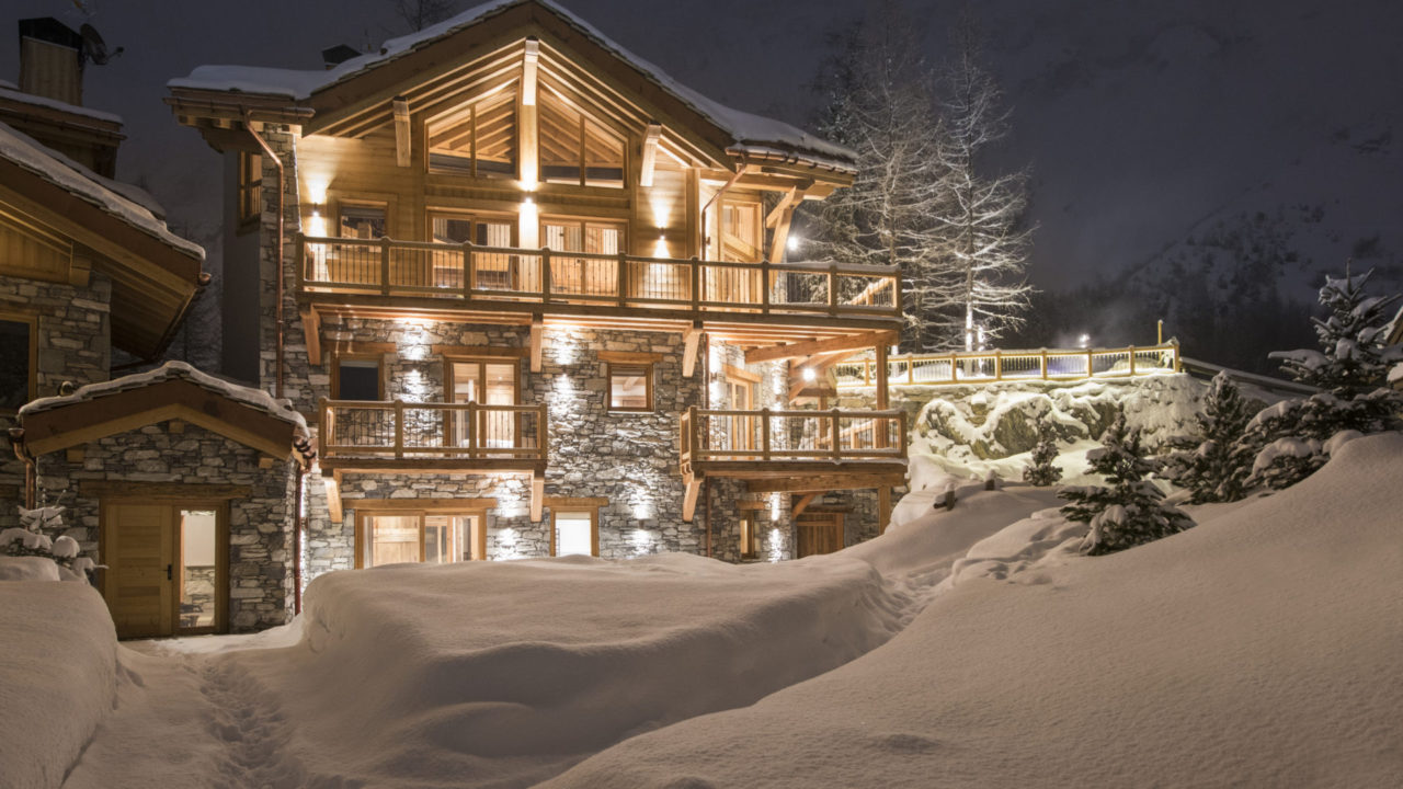 Chalet Machapuchare in Val d'Isere, exterior view