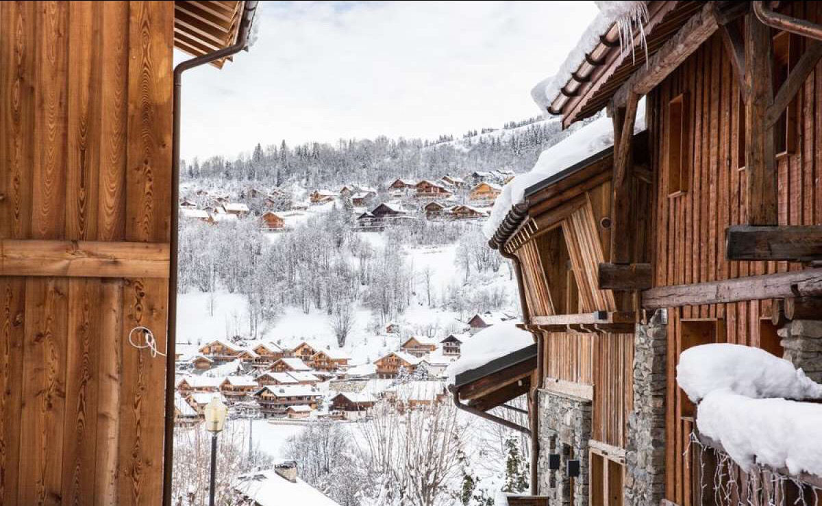 French ski resort Méribel