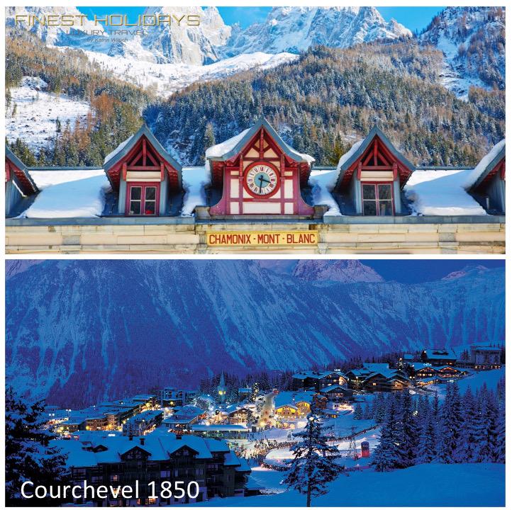 Finest Holidays - Luxury Travel Book review Chamonix Courchevel 1850