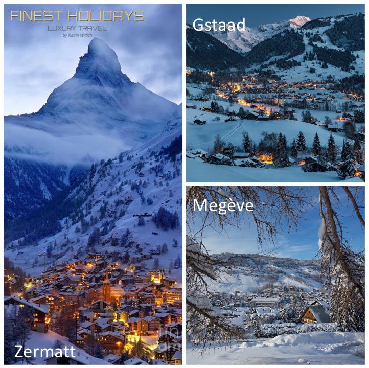 Finest Holidays - Luxury Travel Book review Gstaad Megève Zermatt
