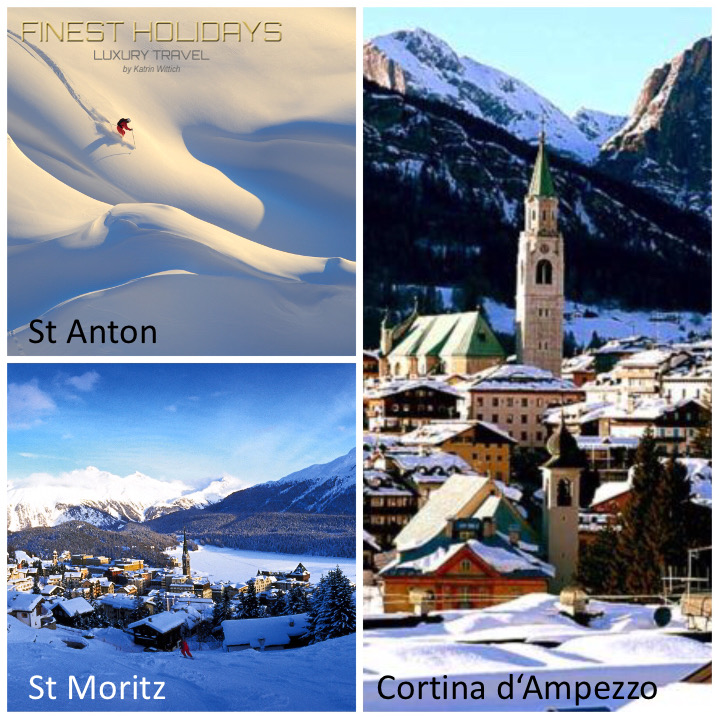 Finest Holidays - Luxury Travel Book review St Anton St Moritz Cortina