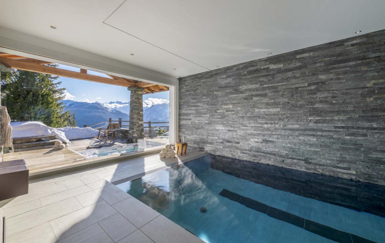 Luxury ski Chalet Spa, Verbier