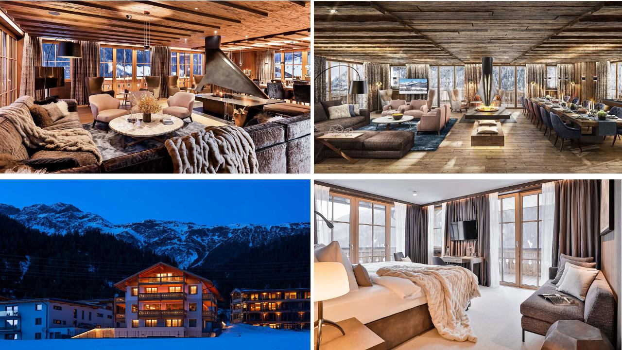 www.finest-holidays.com Luxury ski chalet Lena, St Anton, Austrian Alps