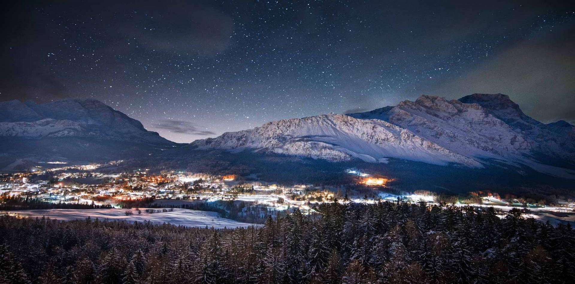 Cortina d'Ampezzo in the Italian Alps