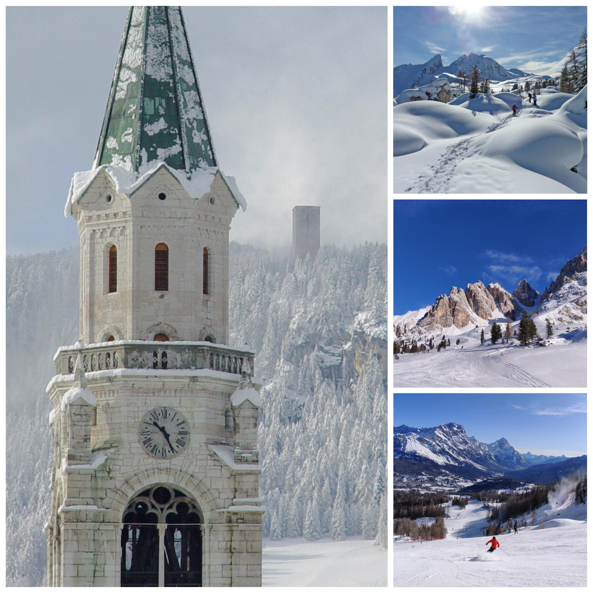 WInter Impressions: Cortina d'Ampezzo in the Dolomite Region, Italian Alps