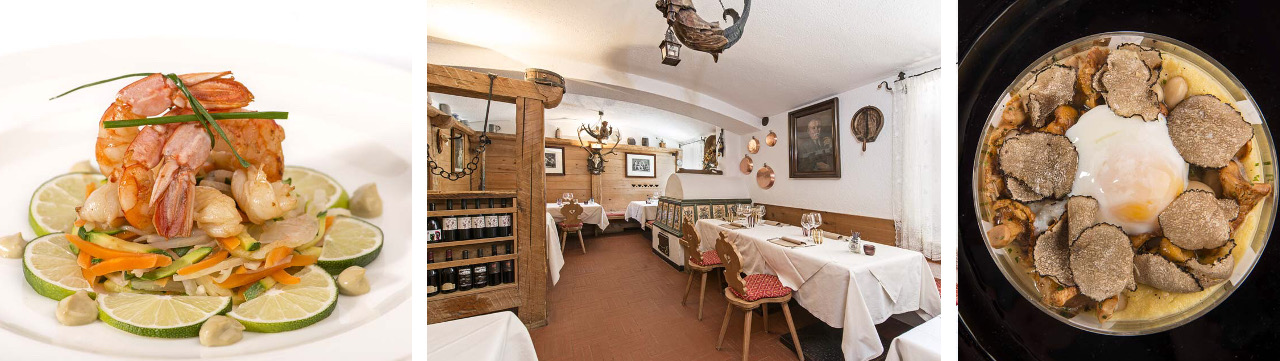 Restaurant Baita Fraina in Cortina d'Ampezzo