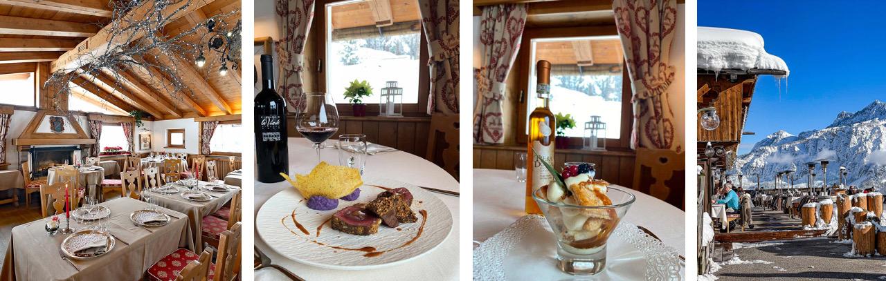 Restaurant El Camineto in Cortina d'Ampezzo