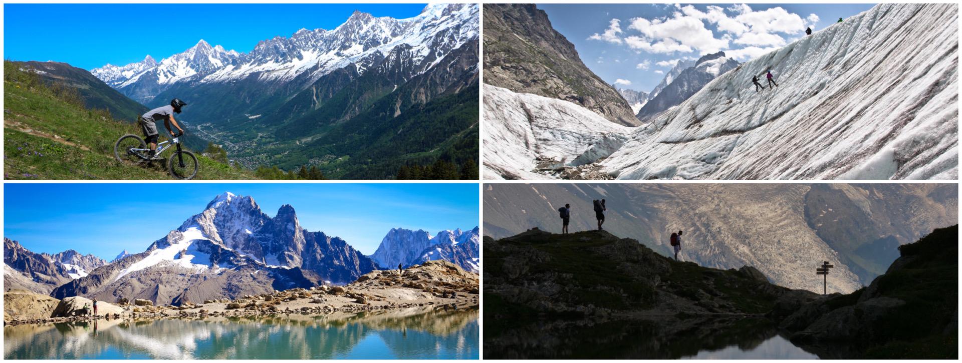 Chamonix summer activities, Haute Savoie