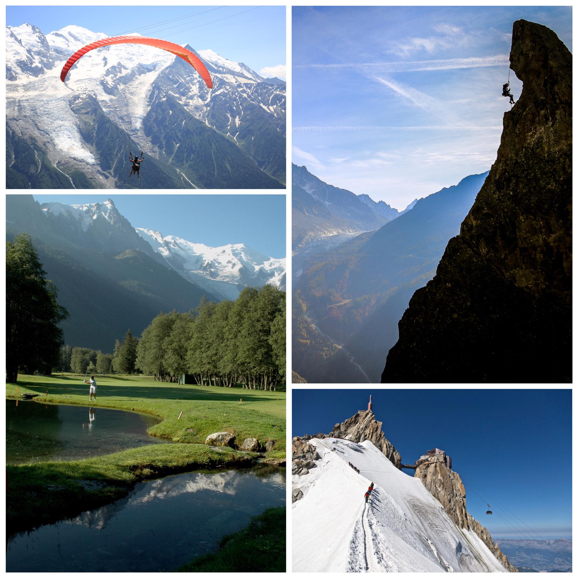 Chamonix, French Alps, summer activities