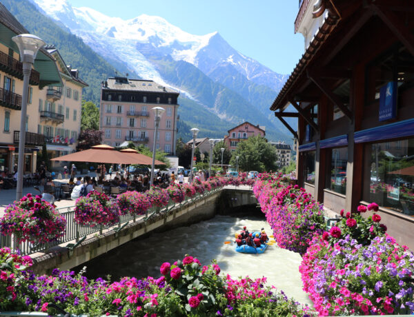 Chamonix-Mont-Blanc in the French Alps