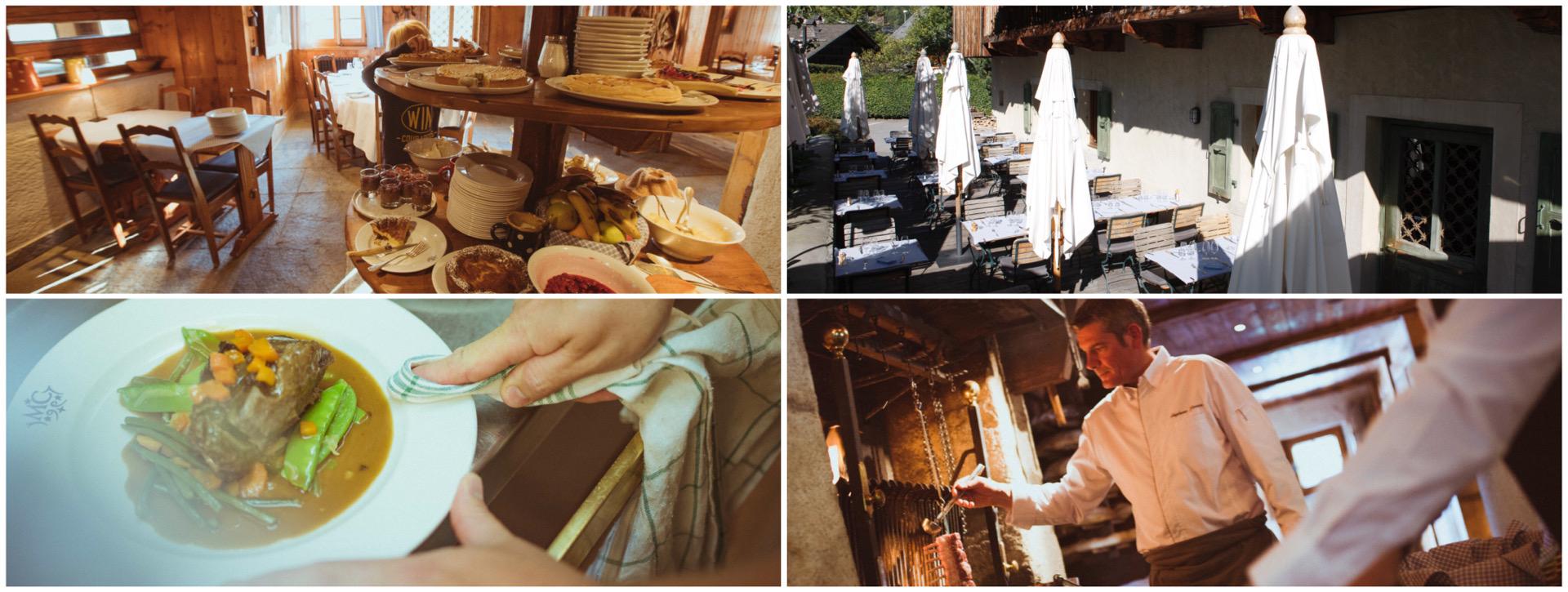 La Maison Carrier restaurant in Chamonix, French Alps
