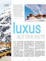 Magazin Winter Chalets