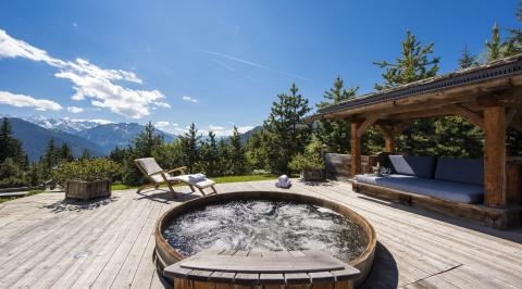 Chalets with Hot Tub Verbier