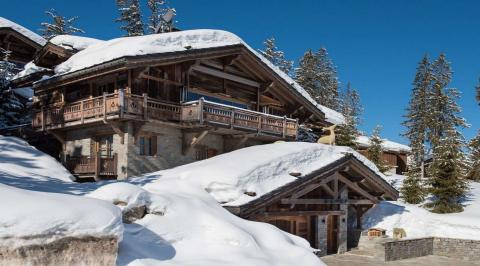 Ski in / ski out chalets French Alps