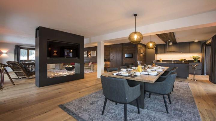 Balegia Apartment 4 Lech dining