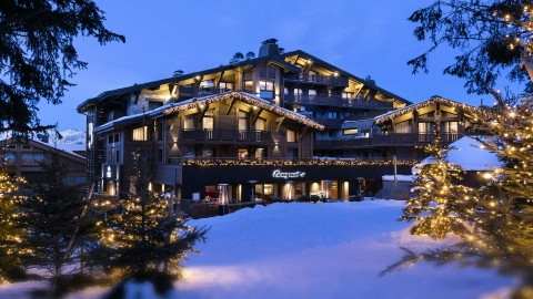 Hotel Barriere Les Neiges Courchevel 1850