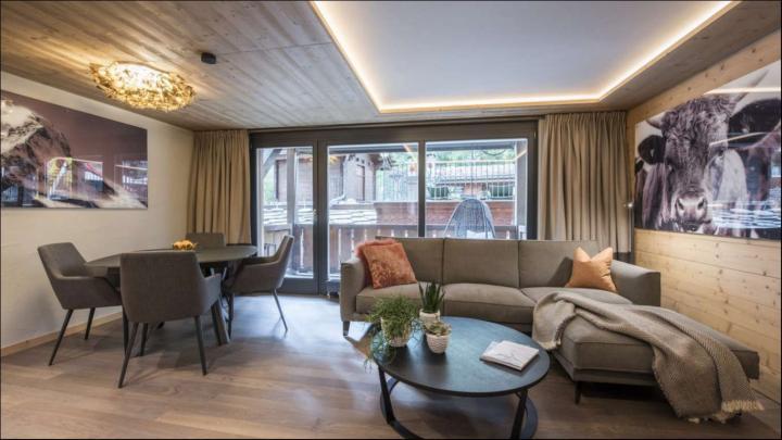 luxury-aprtment-zermatt-living